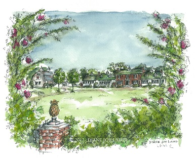 Huntingfield Inn Crape Myrtle  ©  2012